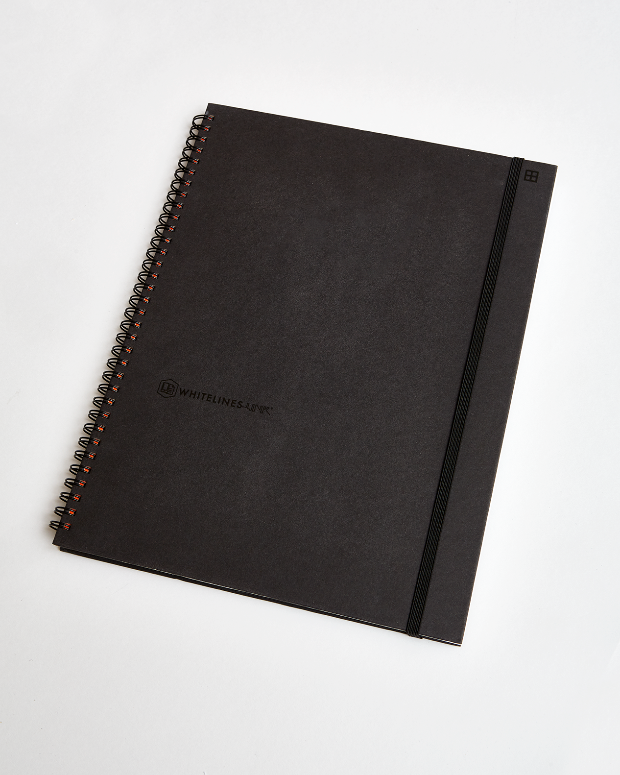 hard wire a4 squared spiral notebook