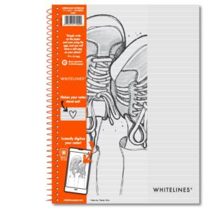 "Wire bound Notebook 11""x8.5"" Lined 17000"